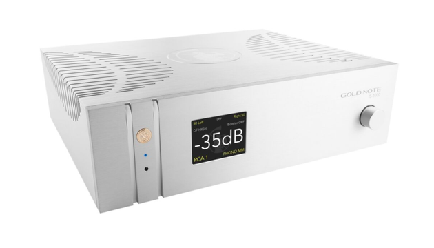 IS-1000: A Fully integrated Amplifier With Built-in Streamer, Phono Stage & DAC