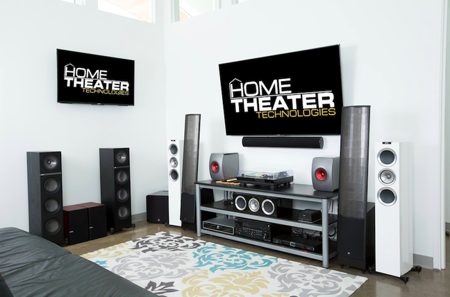 Listen to Kef at Home Theater Technologies