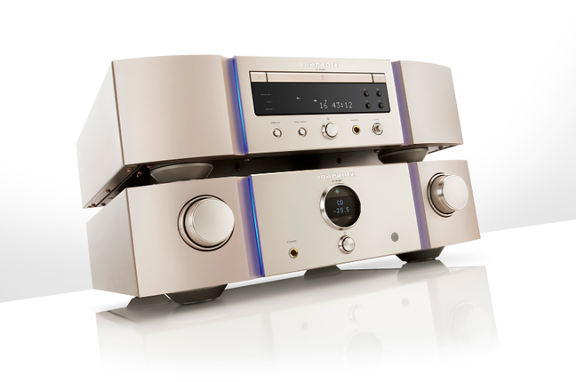 Marantz PM-KI Ruby Integrated Amplifier and  SA-KI Ruby SACD Player with DAC