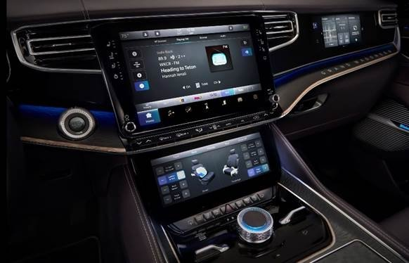 McIntosh Audio System For Grand Wagoneer Concept Will Make You Linger In Your Car