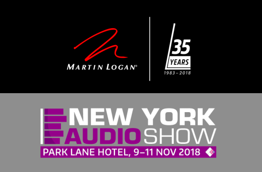 Join MartinLogan at the 2018 New York Audio Show