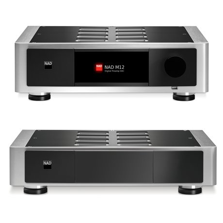 NAD Masters Series M12 Digital Preamp DAC and M22 Stereo Amplifier