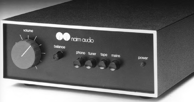 TAS Legacy: Naim Nait Integrated Amplifier