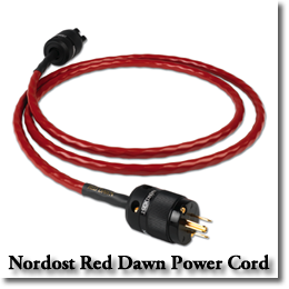 New Red Dawn Power Cord From Nordost