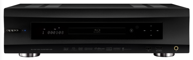 Oppo BDP-105D Audiophile Blu-ray Disc Player