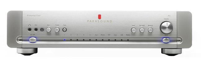 Introducing the Parasound Halo P5 Stereo Preamplifier
