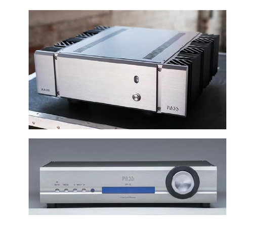 Pass Labs XP-12 Preamplifier and XA25 Amplifier