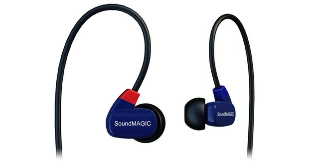 SoundMAGIC E10, E30 and PL50 Earphones (Playback 58)