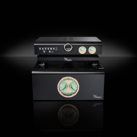 Dan D'Agostino Master Audio Systems Progression preamp and stereo amplifier