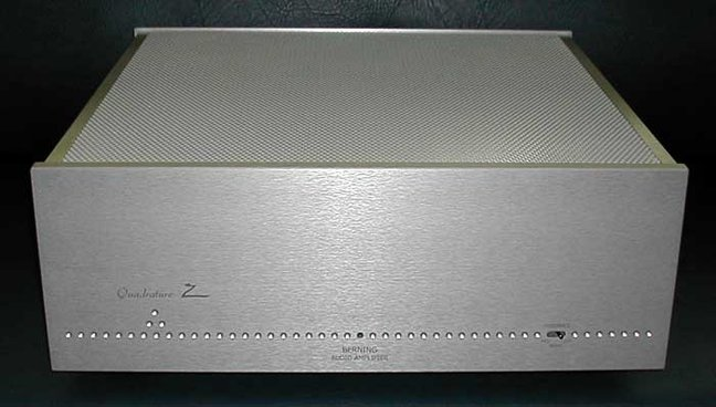 The David Berning Quadrature Z Mono Power Amplifiers