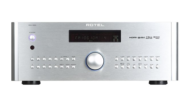 PLAYBACK: Rotel RSX-1550 5.1-channel A/V receiver