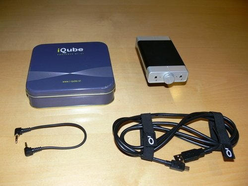 First Listen: iQube V2 Headphone Amp/DAC from Qables