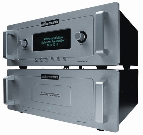 Audio Research 40th Anniversary Edition Reference Preamplifier (TAS 209)