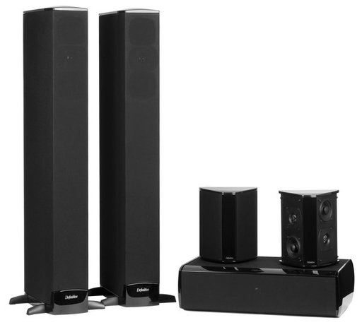 Definitive Technology Bipolar BP-8040ST 5.1-Channel Speaker System (TPV 108)