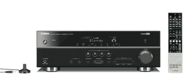 Yamaha Unveils 3D-Ready A/V Receivers