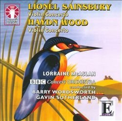 Sainsbury and Wood: Violin Concertos