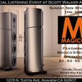 Special Magico Listening Event at Scott Walker Audio