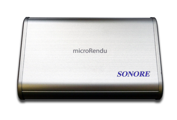 Sonore microRendu Streaming Music Player and Signature Series Linear Power Supply