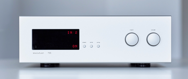 Soulution 755 Phono Preamplifier