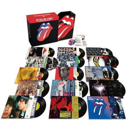 The Stones Roll on Wax
