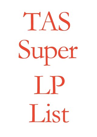 TAS Super LP List 2016