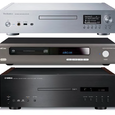Three SACD/CD Players