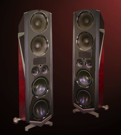 Legacy V Loudspeaker and Wavelet Processor System