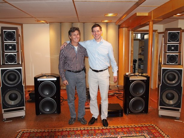 My Visit With Jacob Heilbrunn and Wilson Audio's Alexandria Speakers