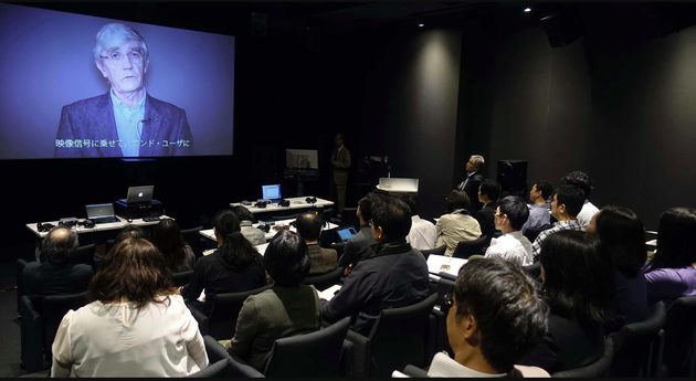 World First Demo of Hi Res Audio Meets HD Video in Japan